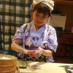 Rugby World Cup and Female Sushi chef, 21 September 2019, the East Garden of the Imperial Palace