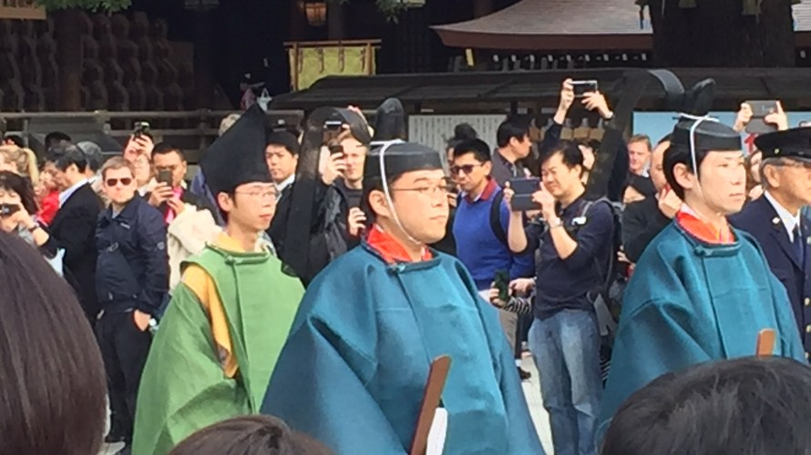Tour report on Autumn Grand Festival, Culture Day and Meiji Emperor's birthday, 3 November 2019