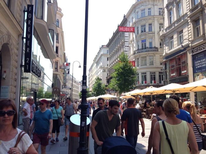 日本には真似ができない、ウィーン市街。