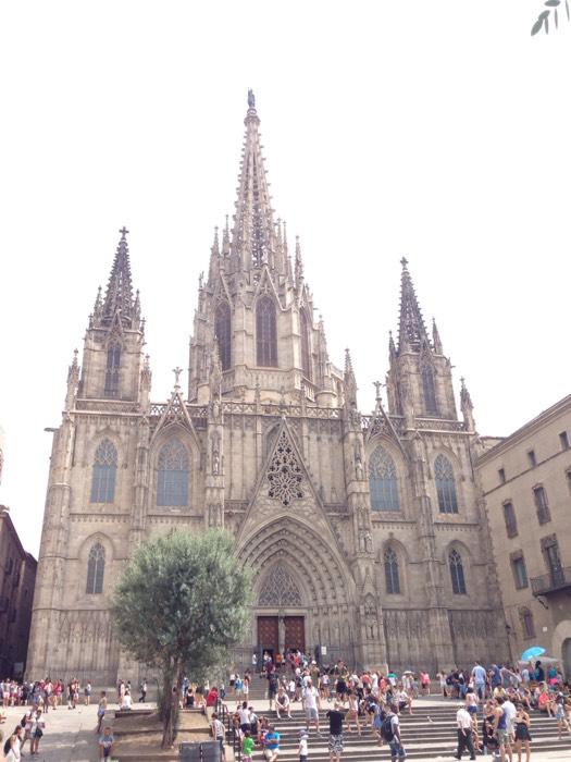 サンタ・エウラリア大聖堂。
