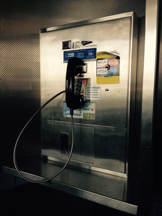 シカゴの公衆電話。