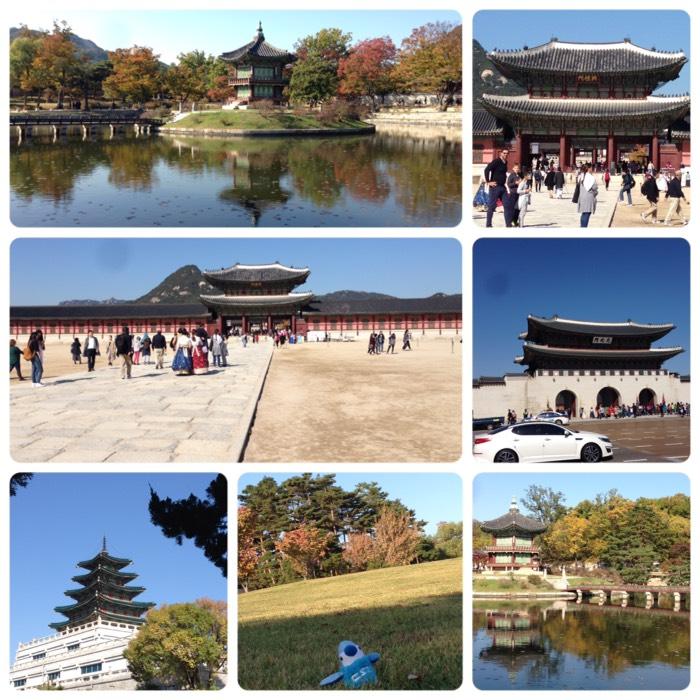 ソウルで一番の観光スポット、景福宮。