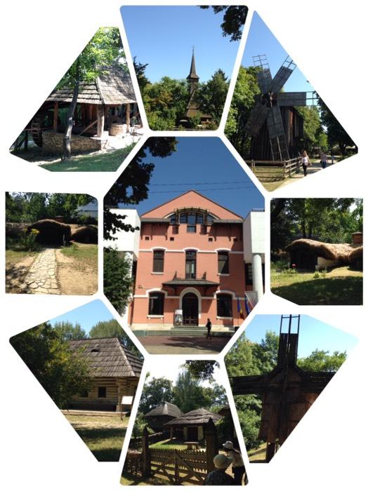 ブカレストの国立農村博物館。