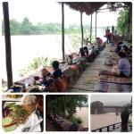 ナムカン川岸レストラン。