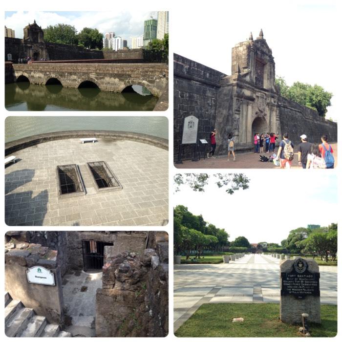 マニラのサンチャゴ要塞。