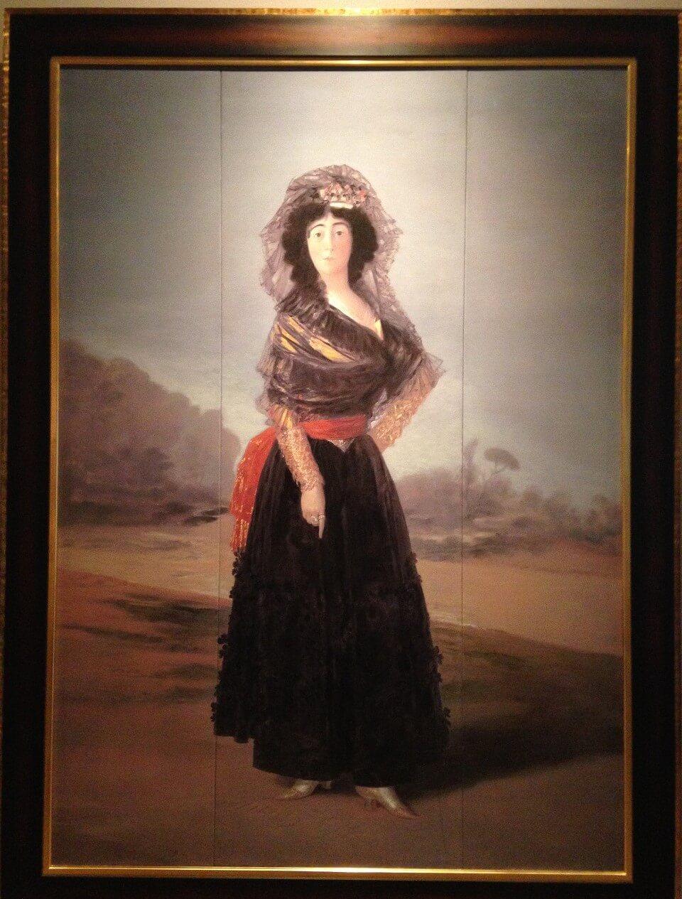 黒衣のアルバ侯爵夫人