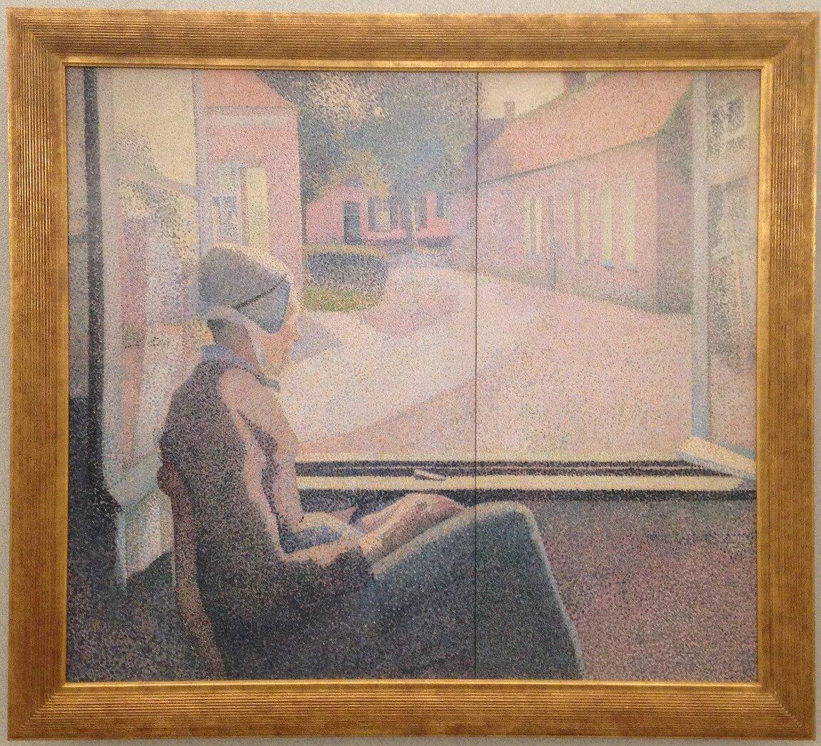 窓辺の女 アンリ・ヴァン・デ・ヴェルデ