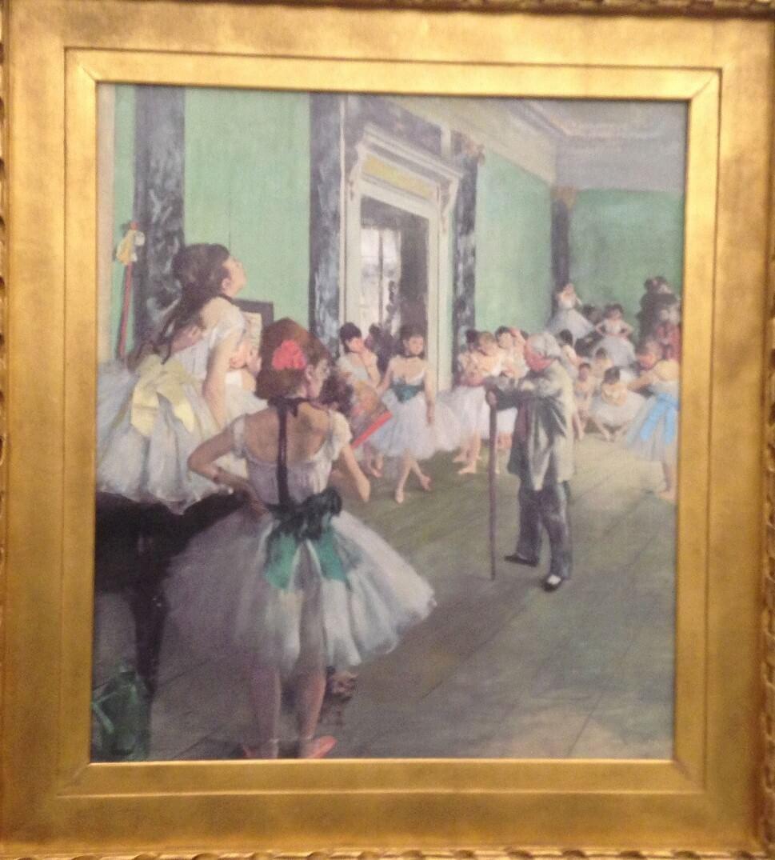 ダンス教室 エドガー・ドガ