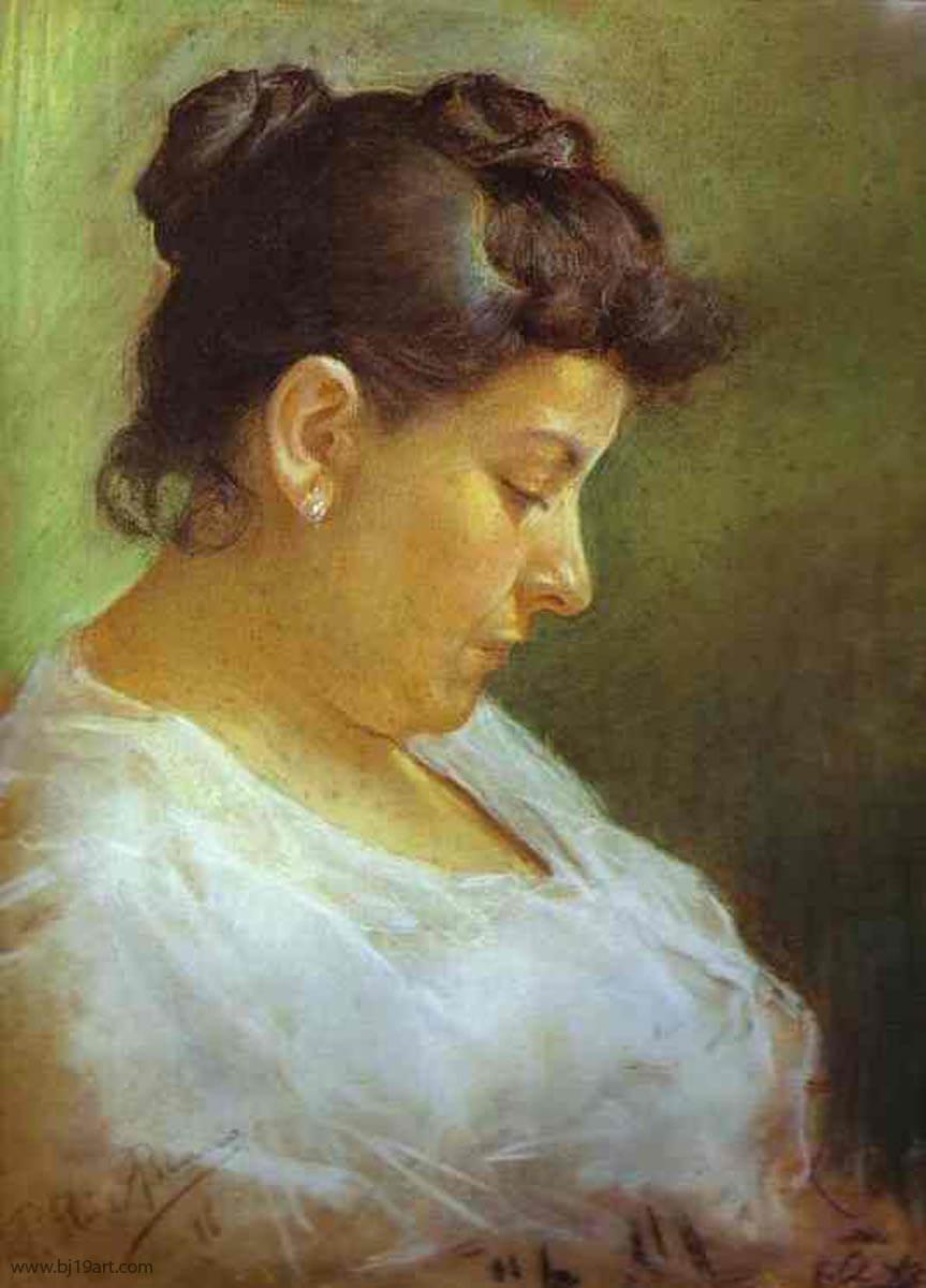 画家の母の肖像 パブロ・ピカソ