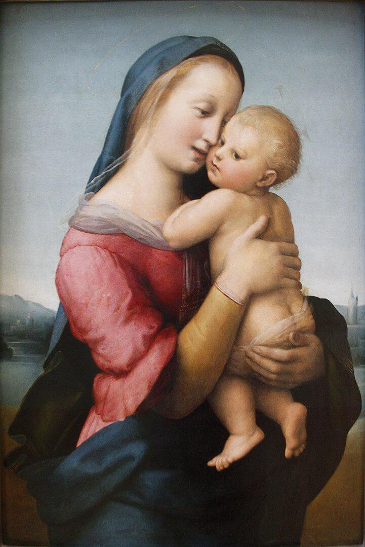 テンピの聖母 ラファエッロ・サンツィオ