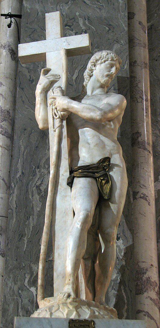 ミネルヴァのキリスト ミケランジェロ・ブオナローティ