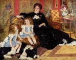 シャルパンティエ夫人とその子供たち ルノワール