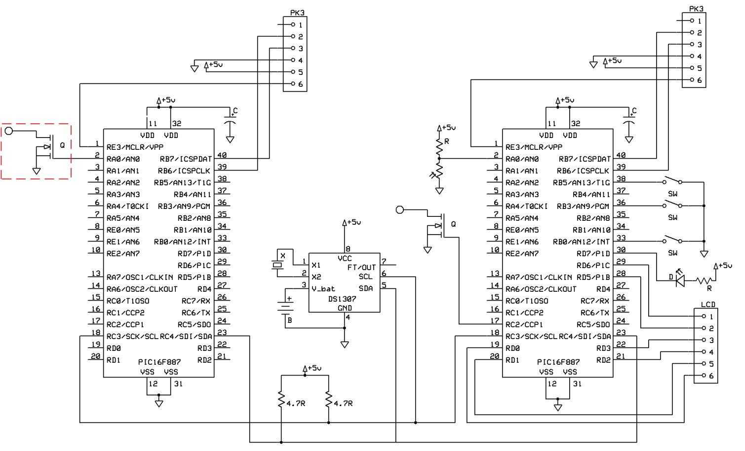 word clock schematics