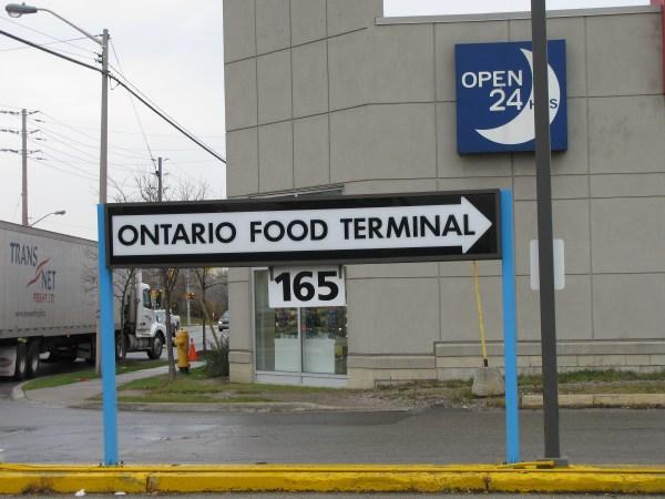Talking Food Ontario Terminal