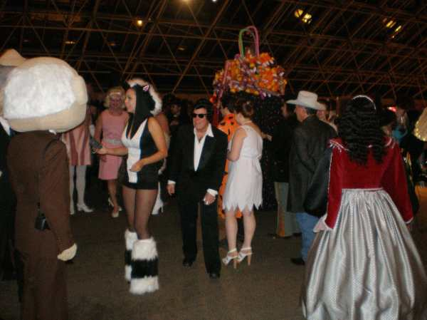 Henri David Halloween Ball 2011