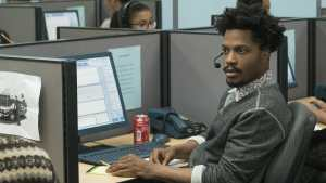 Jermaine Fowler stars as Salvador in Boots Riley's SORRY TO BOTHER YOU, an Annapurna Pictures release.