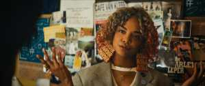 Tessa Thompson stars as Detroit in Boots Riley's SORRY TO BOTHER YOU, an Annapurna Pictures release.
