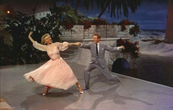 Vera Ellen and Danny Kaye in White Christmas (1954)