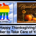 "Happy Thanksgiving During ""The Great Pause"", Please Remember to Take Care of Yourself"