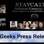 """Russ Emanuel Launches Indiegogo Campaign for New Film, """"Staycation"""""""
