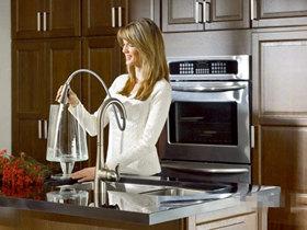 moen kitchen faucets design your own lowes 摩恩厨房龙头 齐家网 想您所想高效厨房必备摩恩雅铂感应龙头推荐