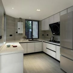Designing Kitchens Best Off White Color For Kitchen Cabinets 160 现代简约风设计厨房效果图 齐家网装修效果图