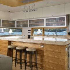 Kitchen Islands Ikea Trailers 原木宜家风厨房中岛装修效果图 齐家网装修效果图