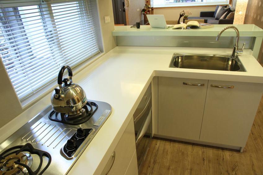 kitchen blinds home depot moen faucets 简约厨房百叶窗设计 收藏