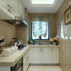 Curtains Kitchen Faucets Made In Usa 英式田园设计装修厨房窗帘装饰 齐家网装修效果图