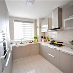 Ceramic Tile Kitchen Island With Sink For Sale 厨房瓷砖的贴法 齐家网 小户型厨房瓷砖搭配效果图小厨房墙地砖选择技巧