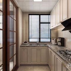 Kitchen Curtain Table For Sale 欧式厨房窗帘 装修效果图案例 2019年装修效果图 齐家网装修图片频道 130平欧式风格三居厨房装修效果图