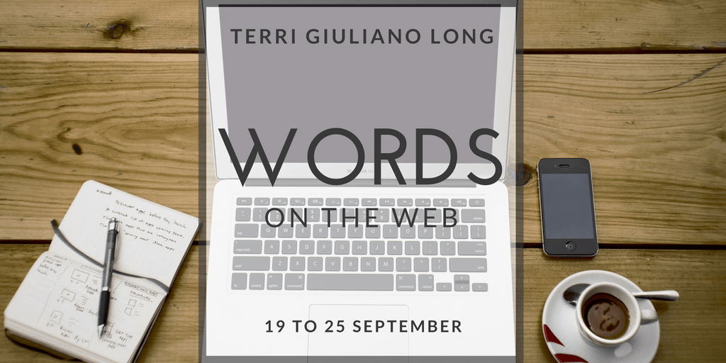 Storify Recap: Words on the Web (19 to 25 September)