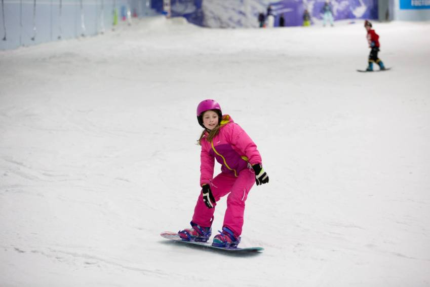 Learn to ski at Chillfactore