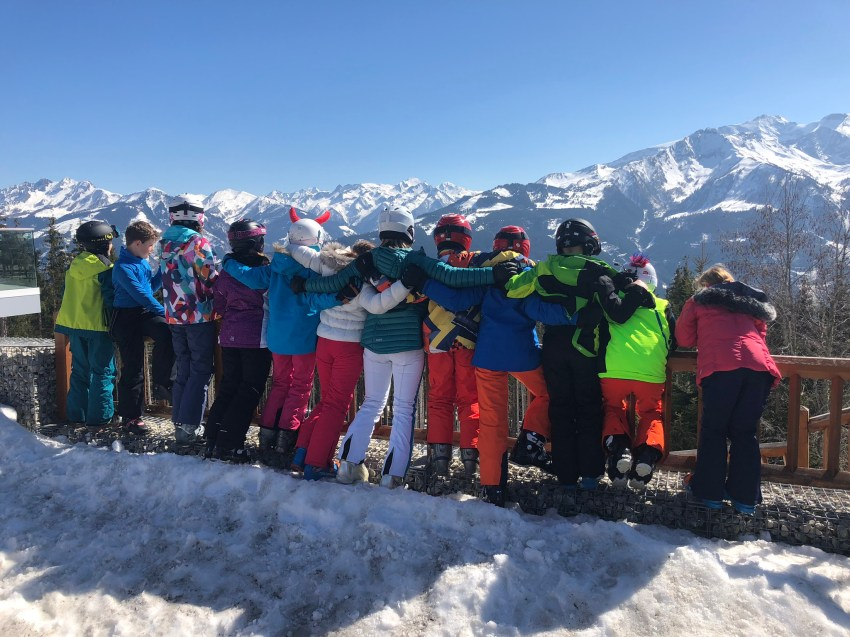 School ski trip 2023