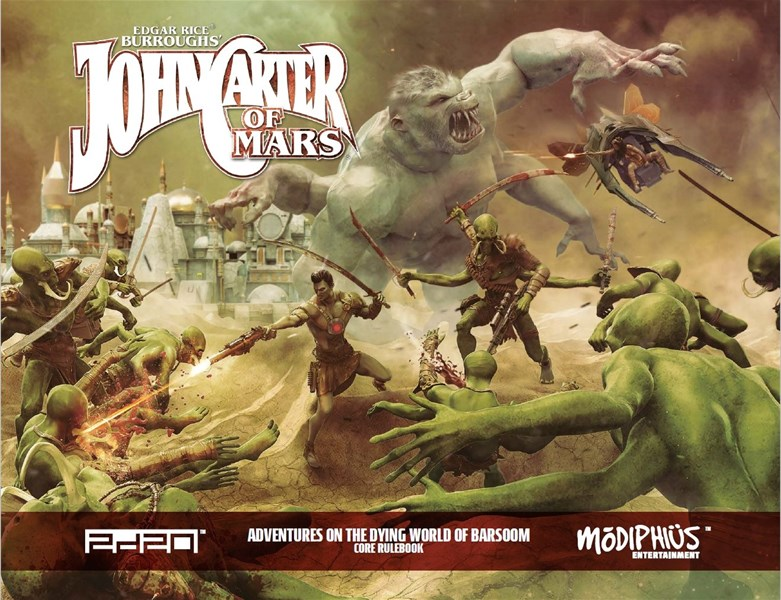 Image result for John Carter RPG