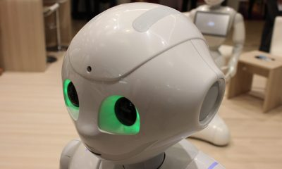 The Pepper Robot created by SoftBank Robotics Corps.
