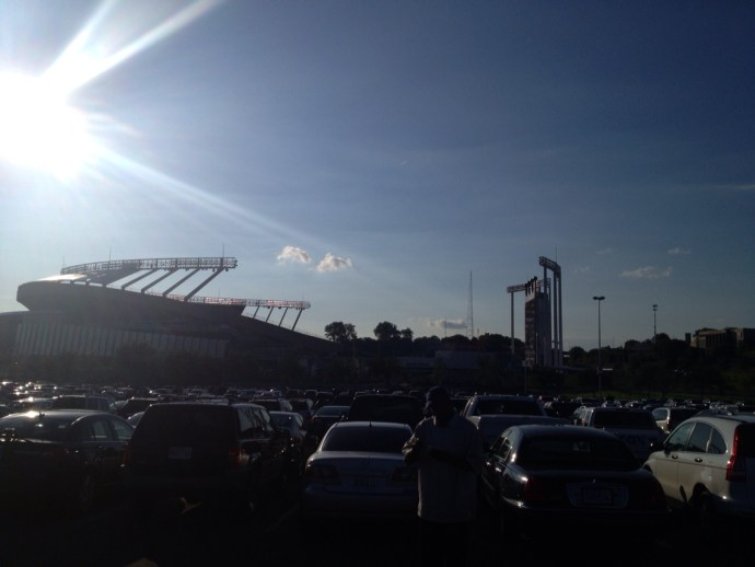 Underrated MLB Ballparks Kauffman Parking lot