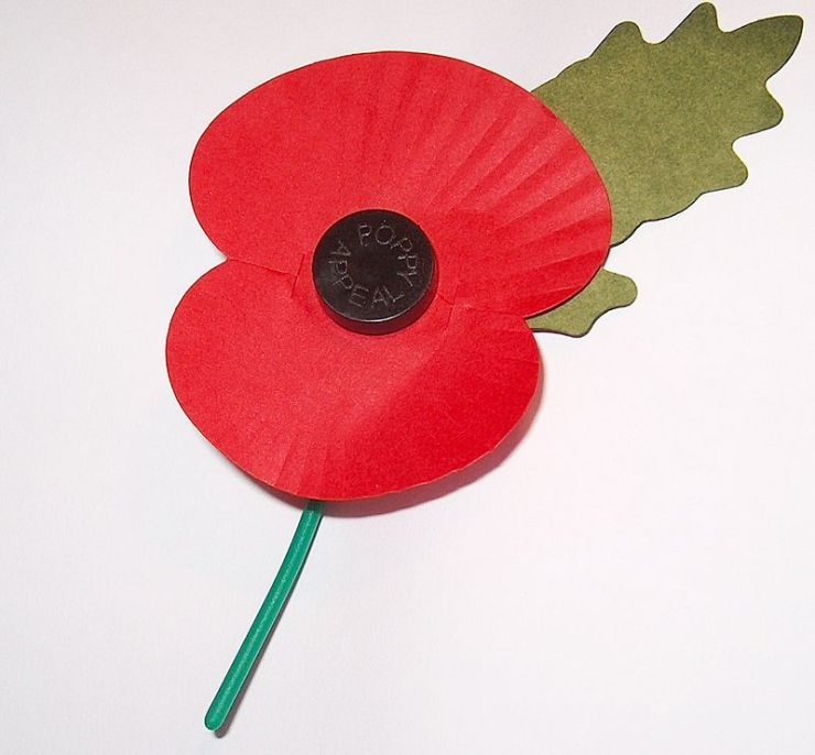 The British Poppy is an iconic tradition to remember The Great War