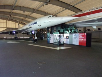 Concorde in the hanger