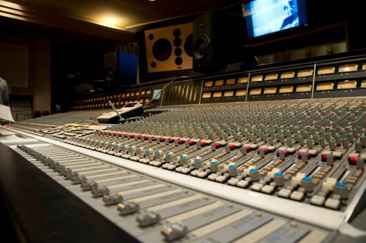 George Martin mixing board