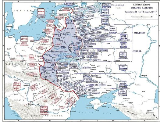Opposite D-Day in June 1944 Operation Bagration