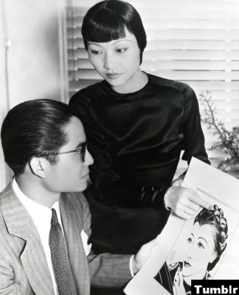 Keye Luke and Anna May Wong
