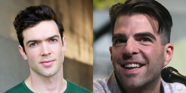Star Trek: Discovery season 2 Ethan Peck and Zachary Quinto