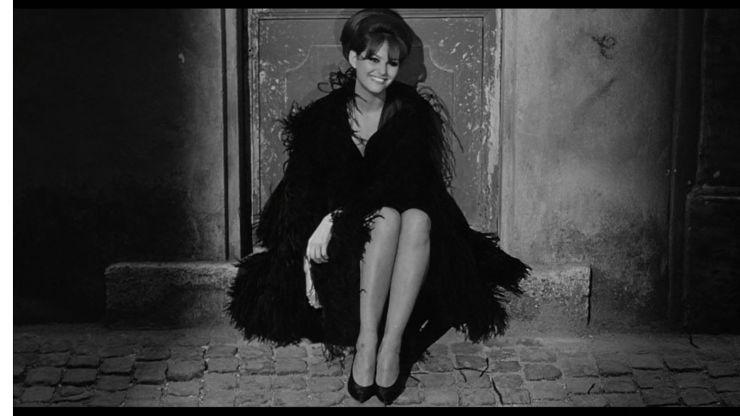 Claudia Cardinale in Frederico Fellini's 8 1/2