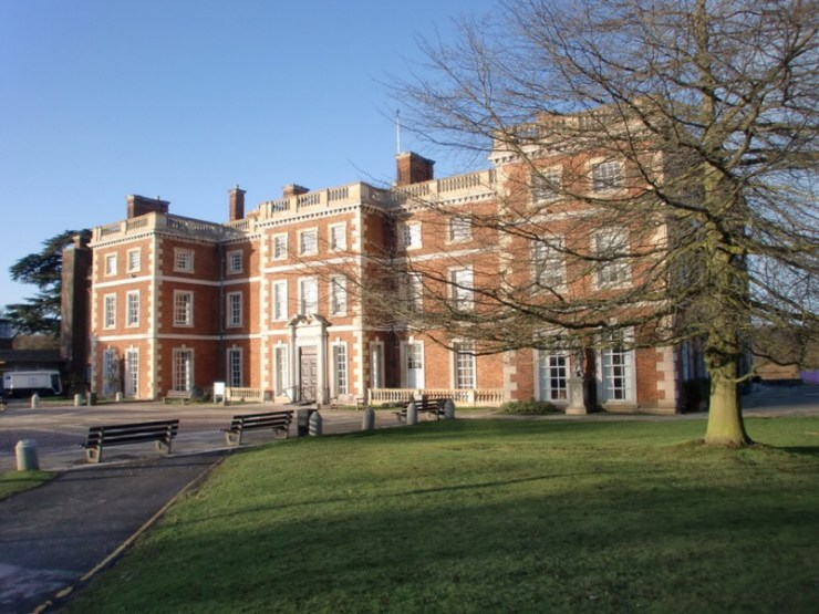 Trent Park, a British WW2 POW site for Axis officers north of London
