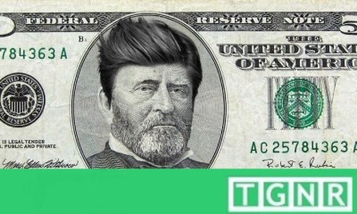 Grant on $50 Dollar bill - hipster haircut