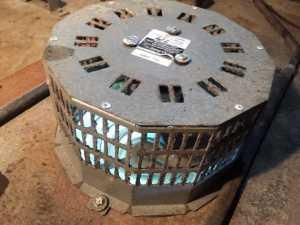 Restored elevator pit ventilation