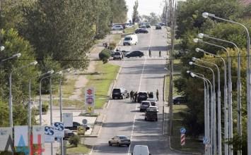 Власти: При взрыве в Донецке пострадали 8 человек