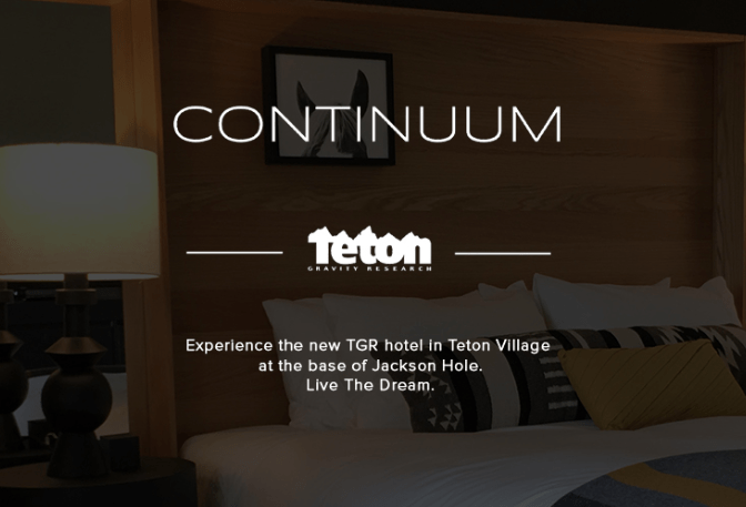 The Continuum Tgr Hotel Is Now Open In Jackson Hole Teton