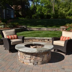 Fire Pit And Adirondack Chairs Racing Gaming Chair Creating The Outdoor Living Space Tg Andr Landscape Group